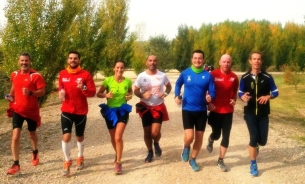 Corriendo para Valencia